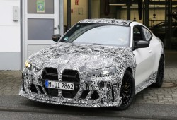 [스파이샷] BMW M4 CSL