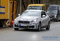 [스파이샷] BMW 1 시리즈