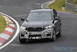 [스파이샷] BMW X3 M