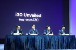 [인터뷰] 현대 i30 신차발표회 질의응답