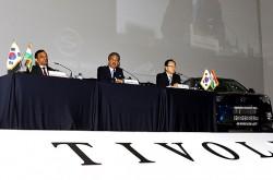 인터뷰 - 쌍용 티볼리 출시 기자간담회
