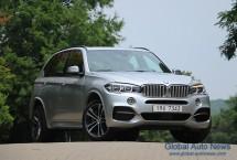 도로를 지배하는 골리앗, BMW X5 M50d