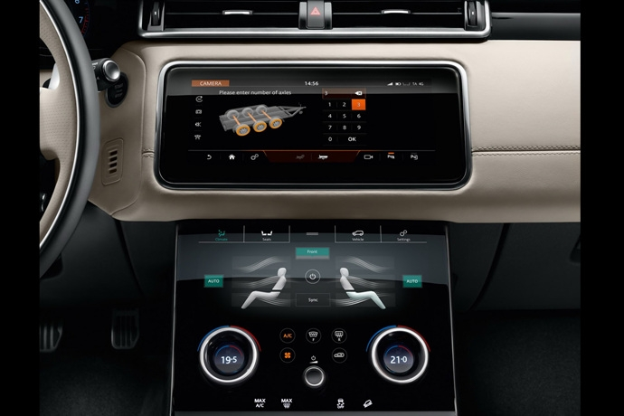 for Interieur range rover velar