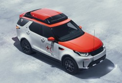 Land Rover Discovery Rescue Vehicle